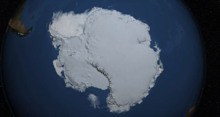 A new NASA study says that an increase in Antarctic snow accumulation that began 10,000 years ago is currently adding enough ice to the continent to outweigh the increased losses from its thinning glaciers.