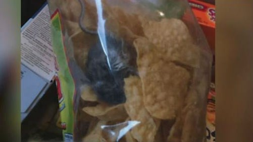 Stephanie Halvorson made this discovery in a bag of chips.