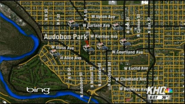 Police say a string of vandalism is targeting the Shadle Park and Audubon areas.
