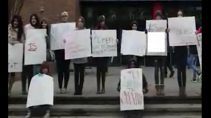 Eastern Washington University Students are taking a stand against sexual assault, using the hashtag: #NotOnMyRedTurf.