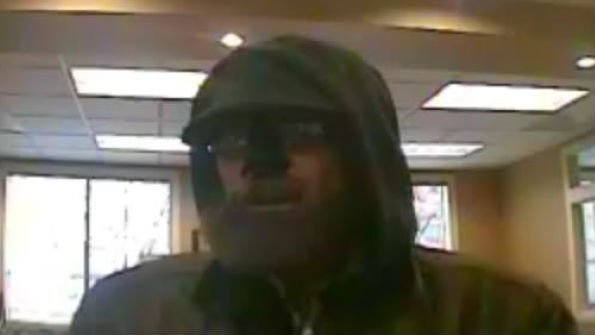 """The """"Beardo"""" robber is a suspect in 6 Everett bank robberies."""