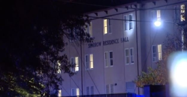 A college in South Carolina is on lockdown after reports of a campus shooting. Photo: NBC