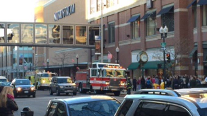 People were evacuated from River Park Square for a brief period of time Wednesday afternoon.
