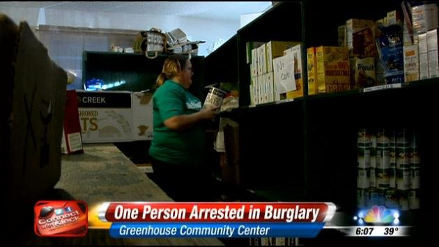 Food bank employees were shocked to learn the thief was one of their own clients.