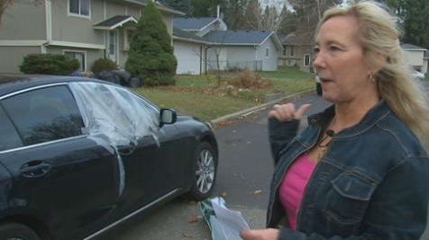 A woman in Shiloh Hills is upset after her car was broken into for the second time in two months.