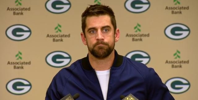 Packers Quarterback Aaron Rodgers was not pleased with one fan prior to Sunday's game