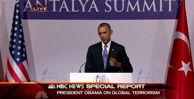 Obama says there has not been enough pushback by Muslim leaders against extremism.