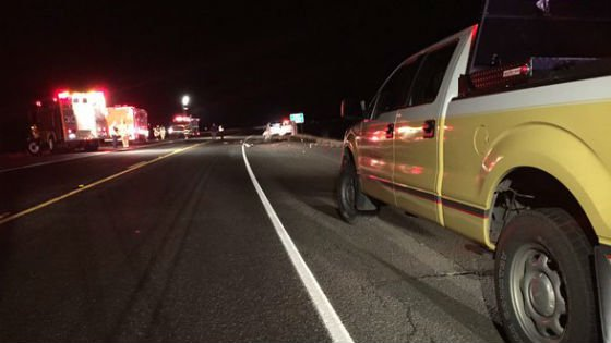 One person was killed in a crash on Highway 195 north of Rosalia Friday.