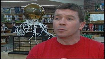Ferris basketball coach Don Van Lierop