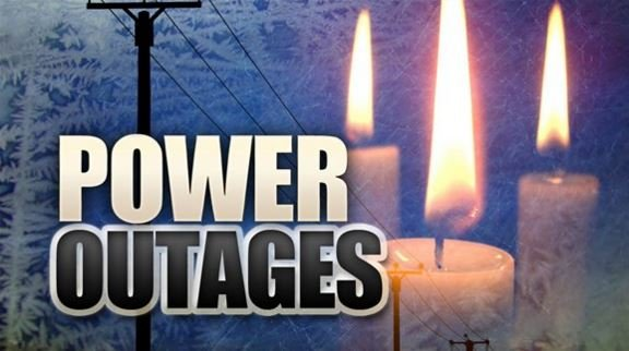 Power outages are dimming Christmas morning for some in Spokane County.