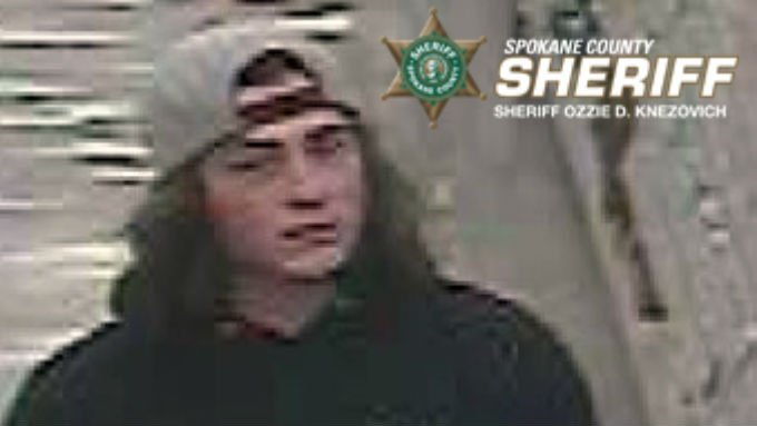Anyone with information regarding this robbery or can help identify this male is asked to call Detective Staley at 509-477-3160 and reference #390398.
