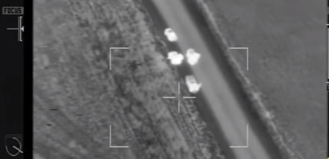 Video from Air 1 shows the traffic stop conducted by deputies following a burglary