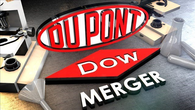 Dow Chemical and DuPont are merging to form a company valued at about $130 billion as they try to counter falling commodities prices and weakness in some key markets that have pressured their giant agriculture and chemicals businesses.