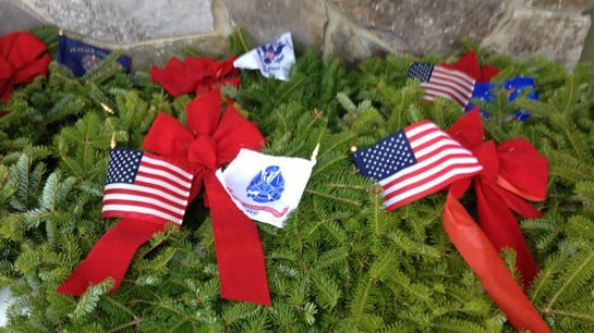 More than 1,200 wreaths were laid at the Medical Lake Veteran's Cemetery this year.