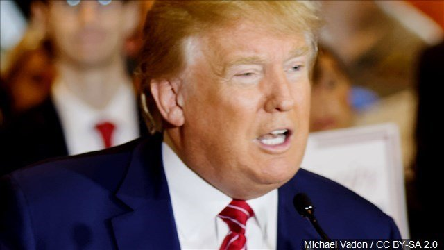 Donald Trump tonight defended his proposal to at least temporarily ban Muslims from coming into the United States, saying the top priority has to be a cautionary U.S. government stance in order to protect the people.