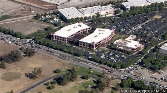The Inland Regional Center in San Bernardino said Wednesday that repairs to two buildings should be completed by Jan. 4. (Photo: NBC Los Angeles / MGN)
