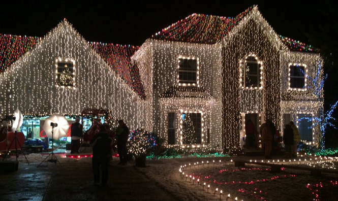 The home, located at 13111 N. Ferndale Dr. is on display through December 20 from 6 p.m. to 8 p.m.