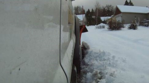 - Private plow drivers are welcoming the cold and snowy week hitting the Inland Northwest