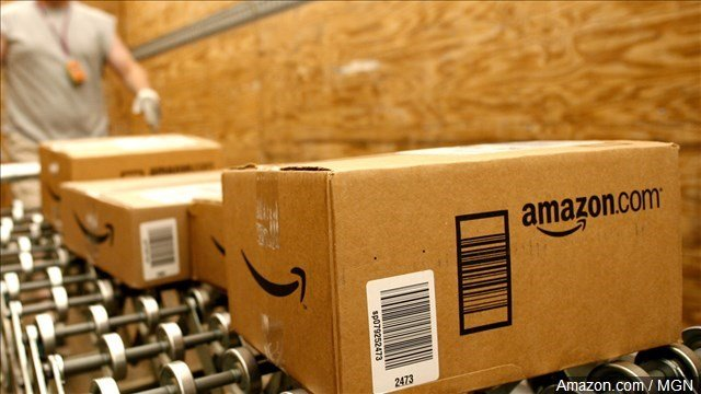Amazon.com has been a prime beneficiary of holiday shoppers going online or procrastinating.