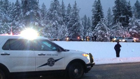 The woman shot by a Spokane County deputy Monday is in stable condition.