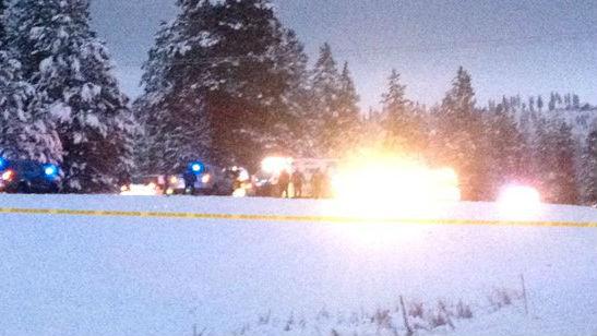 Scene of a shooting on Highway 195