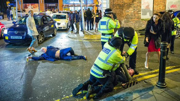 The Creation of Manchester. Photo: Joel Goodman