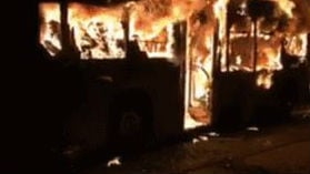 A bus fire in China has killed 14 people. Photo: Facebook/China News