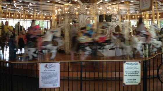 Riverfront Park's historic Looff Carrousel will be closed for annual maintenance starting January 7, 2016, through February 25, 2016.
