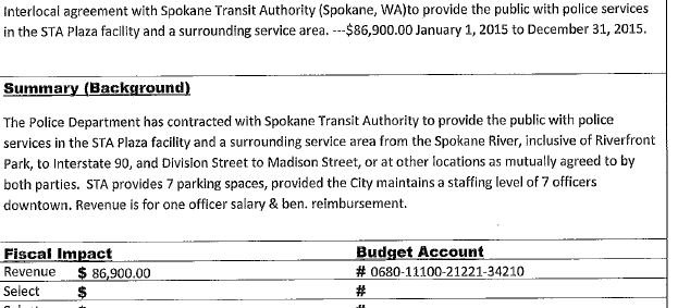 Precinct Move Means Sta Will Not Pick Up Spd Officers Salary