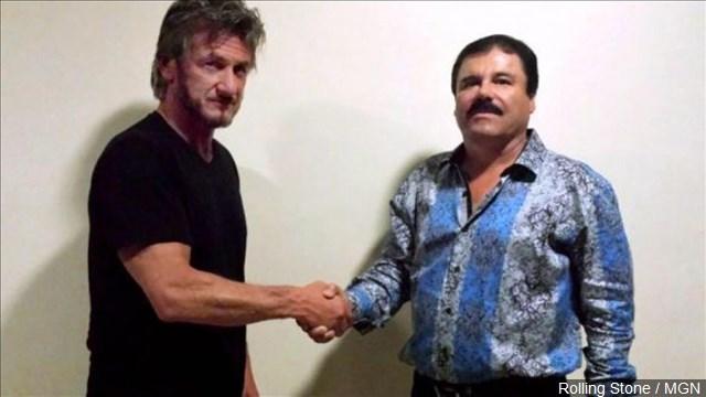 El Chapo and Sean Penn