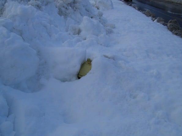 Buried Hydrant