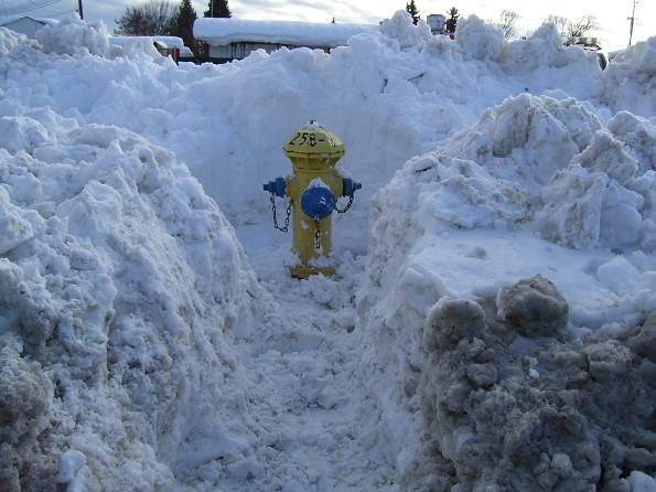 Clear Hydrant