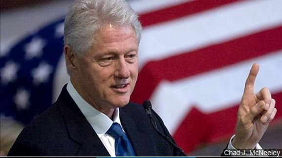 Former President Bill Clinton received $950,000 from taxpayers in 2014