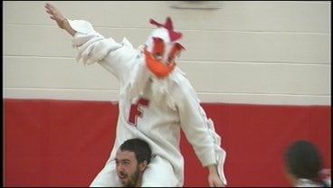 Ferris celebrated Tuesday morning at an all-school assembly (Photo: KHQ)