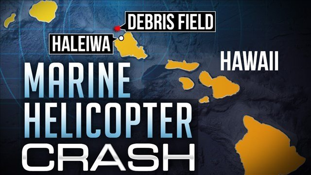 A retired Coast Guardsman who's an expert on sea emergencies says the 12 Marines aboard two helicopters that crashed off Hawaii have a lot to overcome