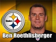 Ben Roethlisberger played wide receiver in high school, while the coach's son played QB.