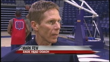 Gonzaga coach Mark Few said the Gaels are playing as well as any team in the country (Photo: KHQ)