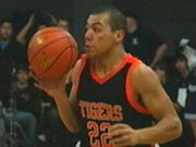 Levi Taylor scored 13 in the Tigers' loss to Gonzaga Prep on Thursday (Photo: KHQ)