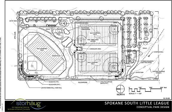 Spokane South Little League Complex Proposal