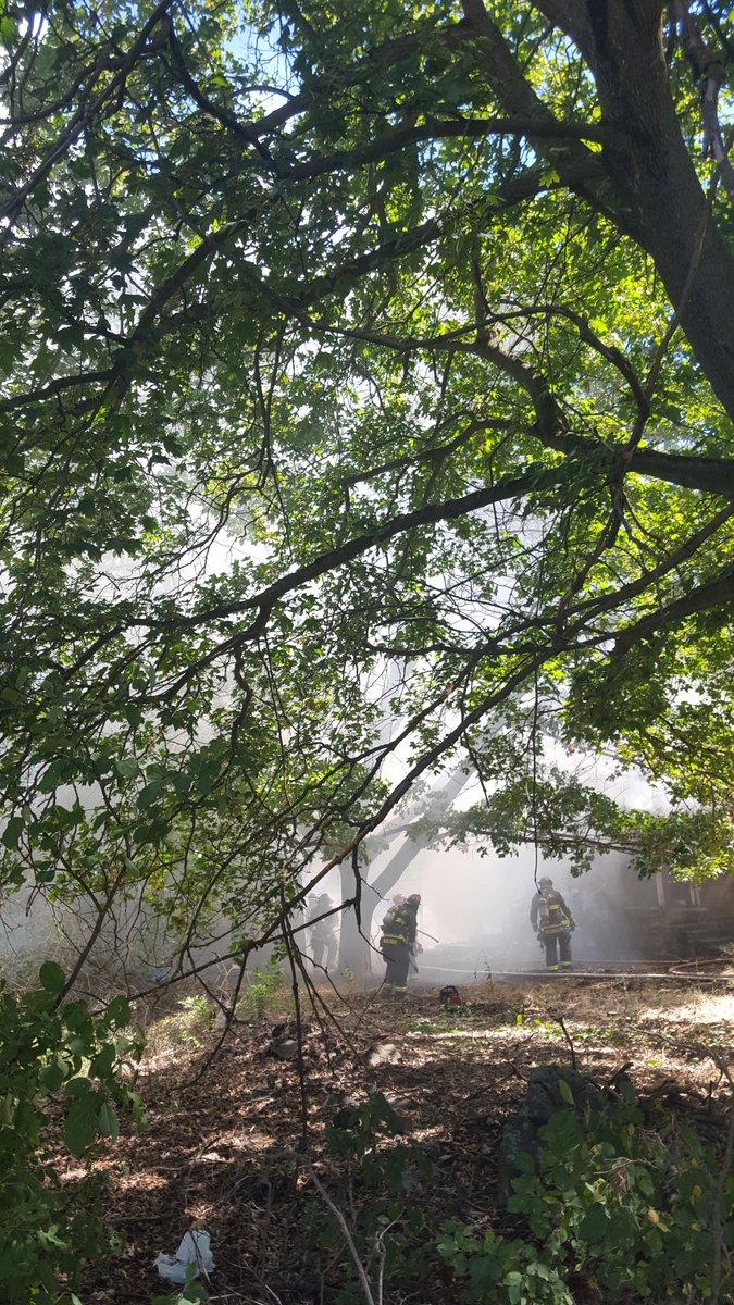 Fire destroys house in Spokane