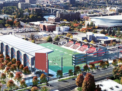 The proposed downtown stadium
