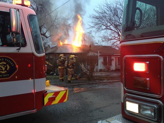 UPDATE: Structure Fire In Spokane Valley - Spokane, North