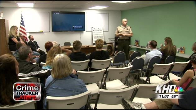 Spokane Shooting Range Held A Gun Safety Seminar On Wednesday Night