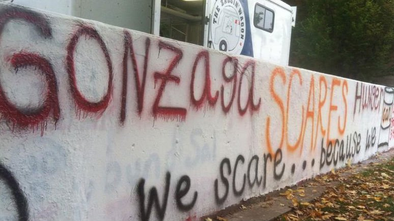 Gonzaga students have organized a Halloween food drive