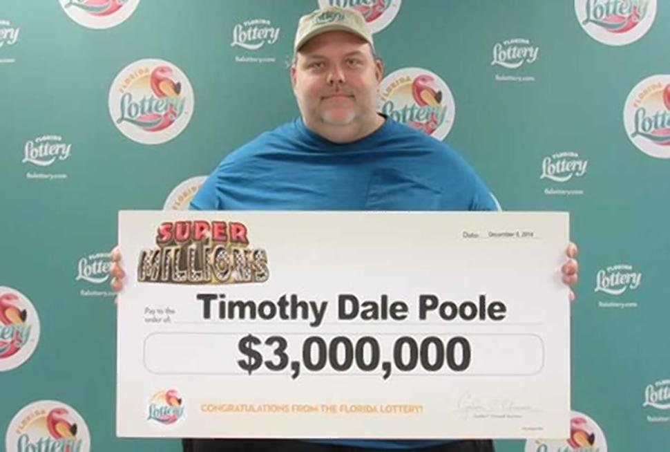Registered sex offender wins lottery (Photo: Florida Lottery)