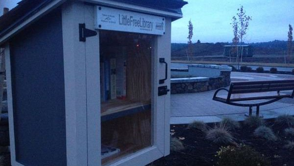 Little Free Libraries grow in popularity in the Inland Northwest, and around America