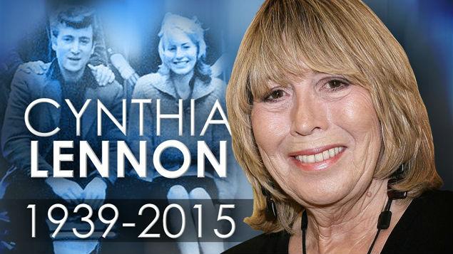 Cynthia Lennon dies of cancer