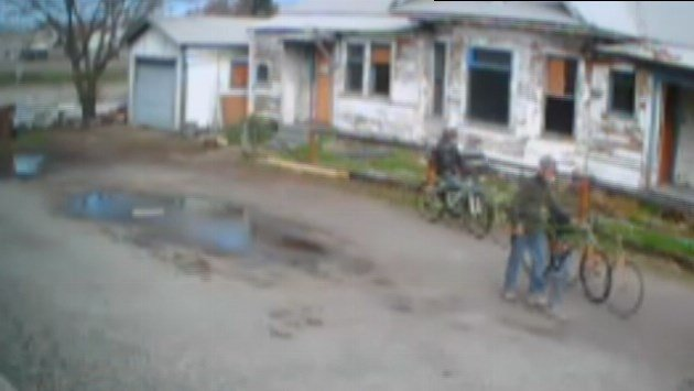The Spokane Fire Department's Special Investigations Unit is asking for the public's assistance in identifying two persons believed to have information about the suspected arson fire that took place on March 29th in 300 East block of 5th Avenue.