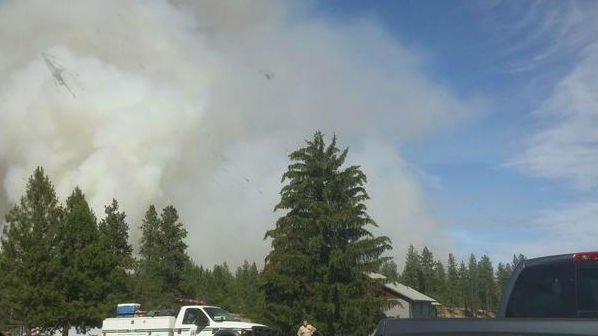 Homeowners describe emotions as they saw smoke from Fish Lake Fire
