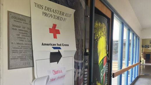 Red Cross shelters are stretched thin.